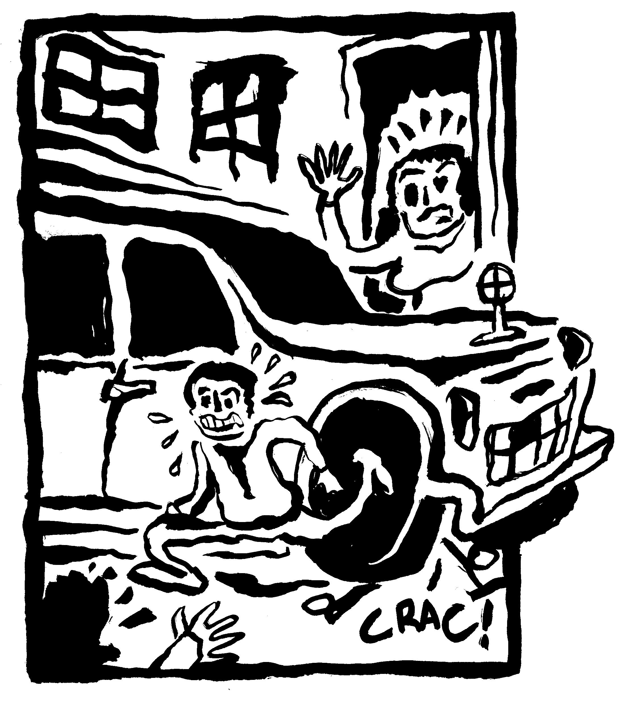 Tentative de meurtre sur enfant avec un 4x4