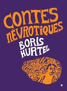 """Couverture des """"Contes névrotiques"""" de Boris Hurtel"""